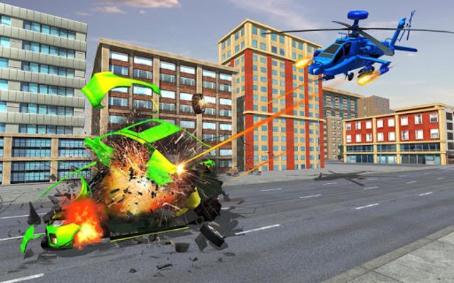 US Police Monster Truck Robot screenshot 4