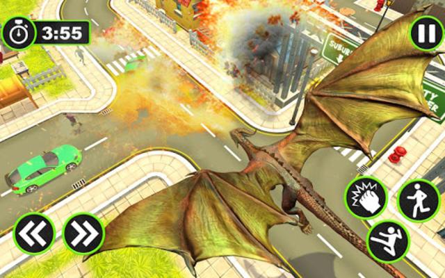 About: Flying Dragon Robot Simulator :Transformation War