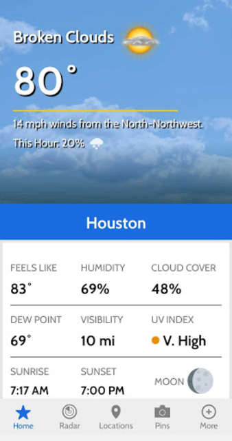 KPRC2 Weather screenshot 2