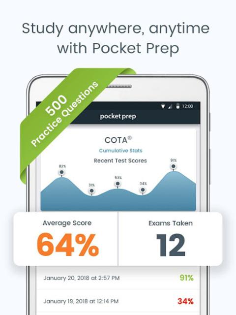 COTA Pocket Prep screenshot 8