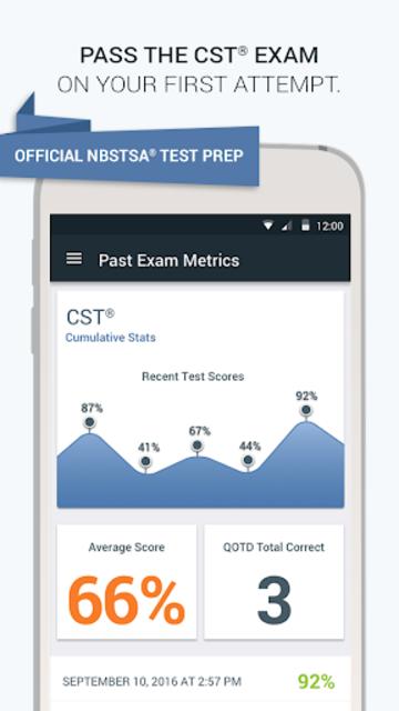 Official NBSTSA CST Exam Prep screenshot 1