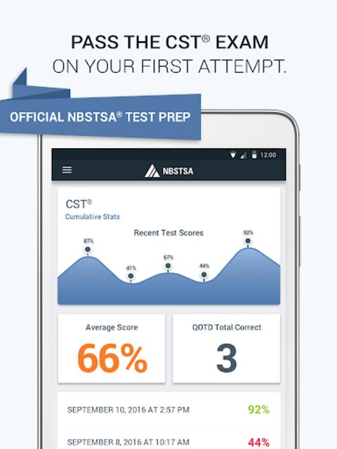 Official NBSTSA CST Exam Prep screenshot 6
