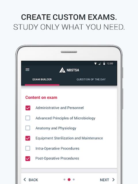 Official NBSTSA CSFA Exam Prep screenshot 8