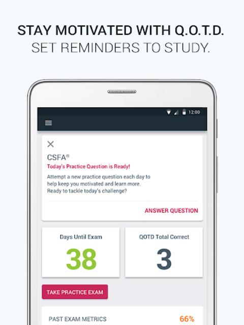 Official NBSTSA CSFA Exam Prep screenshot 15