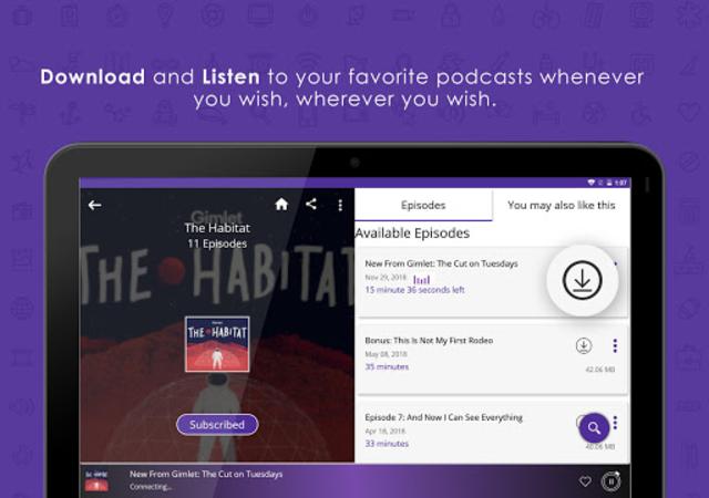 Audecibel: Podcasts Player screenshot 12