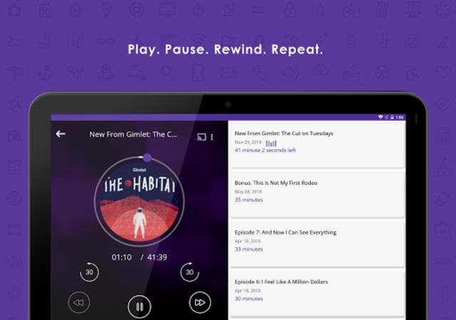 Audecibel: Podcasts Player screenshot 11