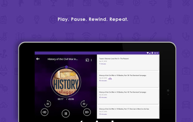 Audecibel: Podcasts Player screenshot 18