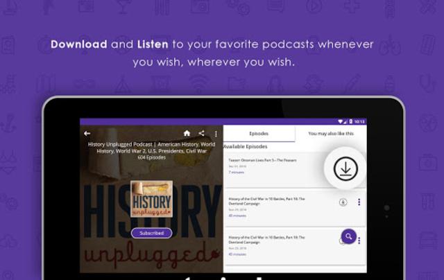 Audecibel: Podcasts Player screenshot 19