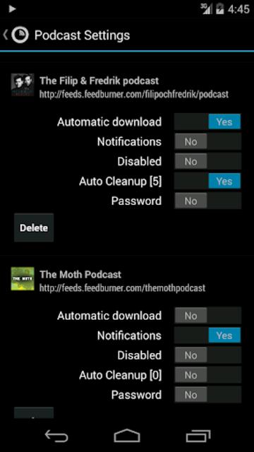Podkicker Pro screenshot 6