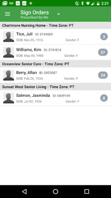 PointClickCare PE screenshot 5