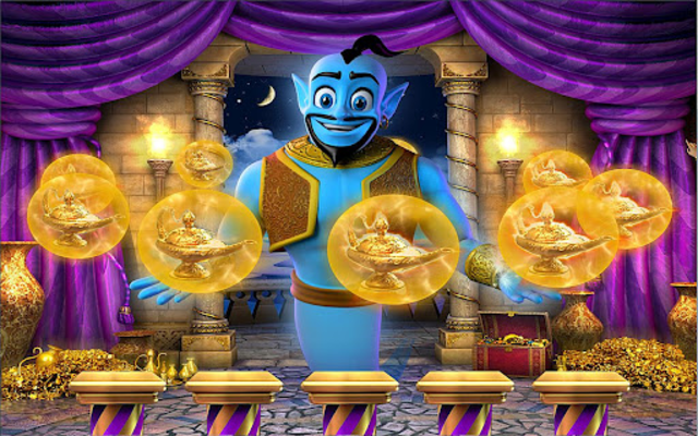 Mystic Genie Slots screenshot 2