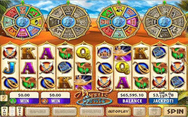 Mystic Genie Slots screenshot 3