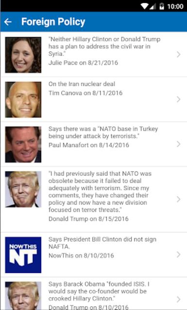 PolitiFact's : Settle It! screenshot 3