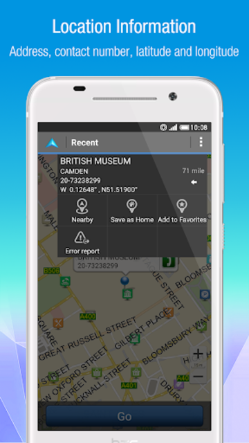 Polnav mobile Navigation screenshot 3