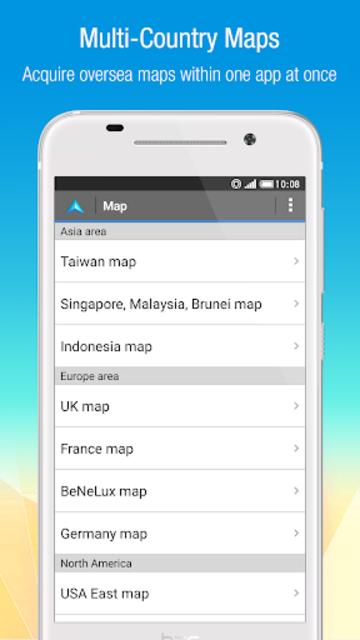 Polnav mobile Navigation screenshot 4