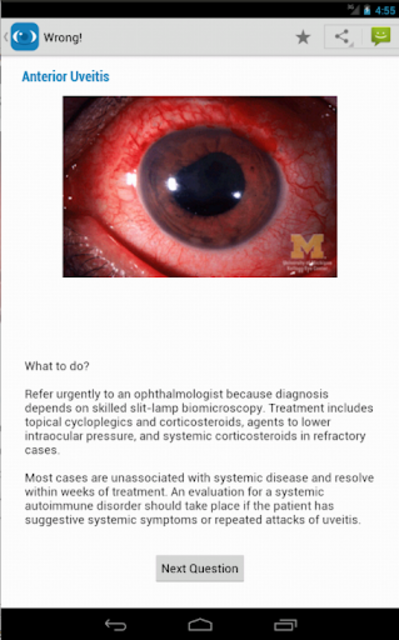 Ophthalmology Training screenshot 13