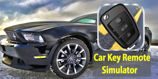 Car Key Lock Remote Simulator screenshot 1