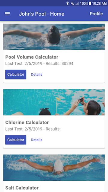 Pool Chemical Calculator screenshot 2