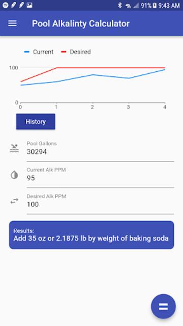 Pool Chemical Calculator screenshot 4