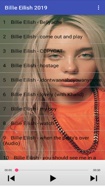 Billie Eilish Songs 2019 screenshot 1
