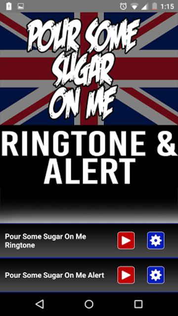 Pour Some Sugar on Me Ringtone screenshot 1