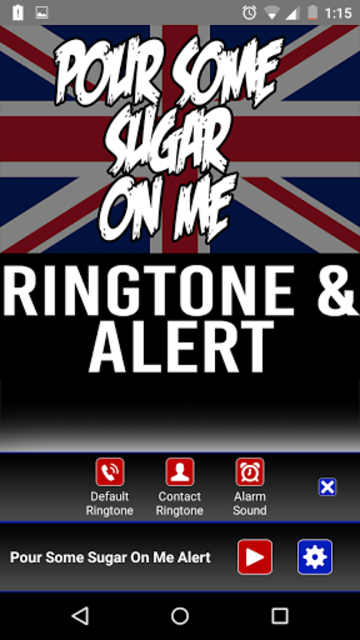 Pour Some Sugar on Me Ringtone screenshot 2