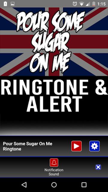 Pour Some Sugar on Me Ringtone screenshot 3