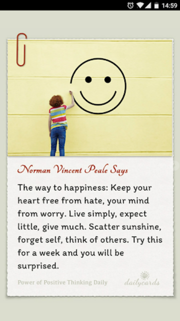 Power Of Positive Thinking screenshot 2