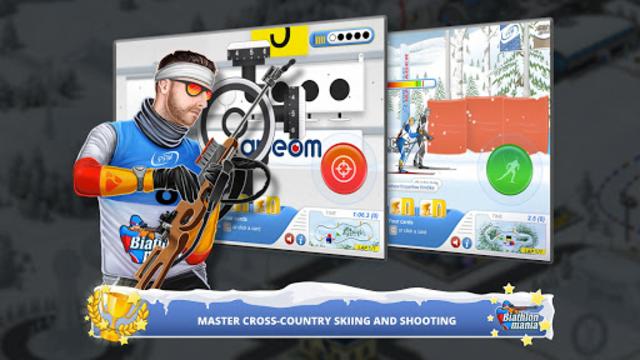 Biathlon Mania screenshot 1