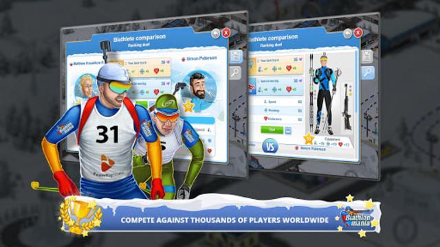 Biathlon Mania screenshot 2