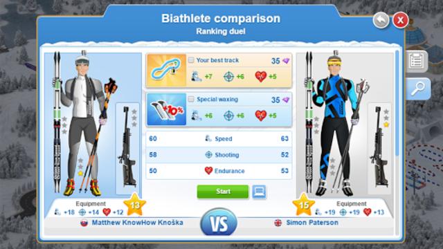 Biathlon Mania screenshot 10