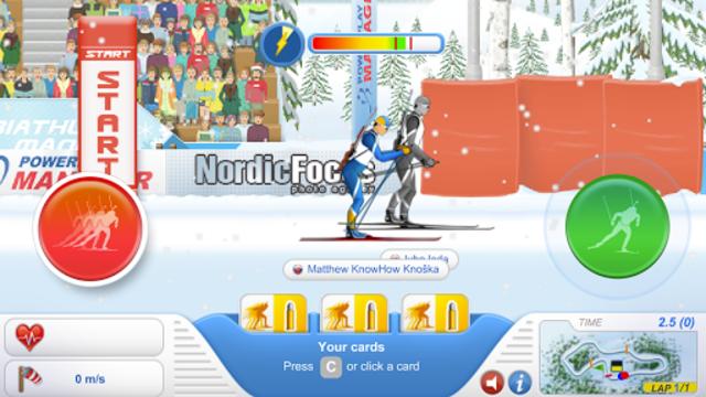 Biathlon Mania screenshot 11