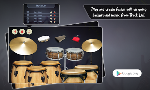 Real Percussion, Congas & Drums screenshot 1