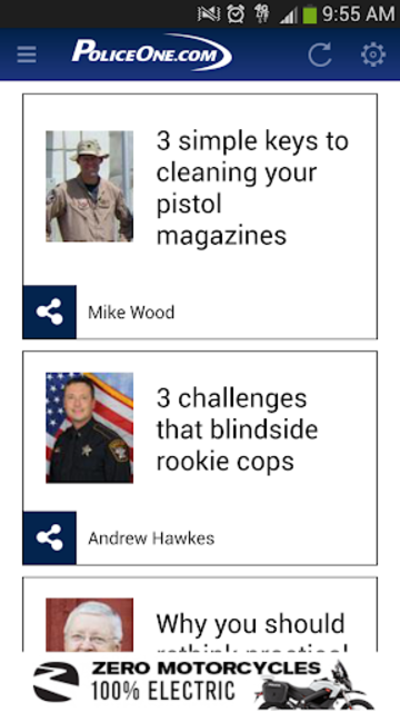 PoliceOne screenshot 1