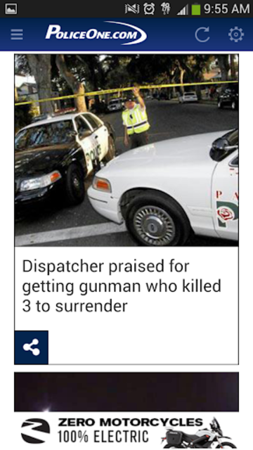 PoliceOne screenshot 2