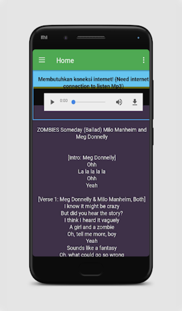 All of Songs Zombies OST Mp3 and Lyric 2018 screenshot 3