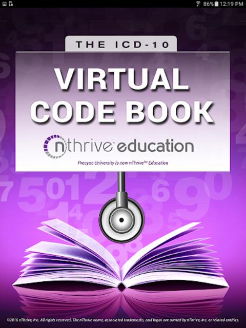 ICD-10 Virtual Code Book screenshot 3
