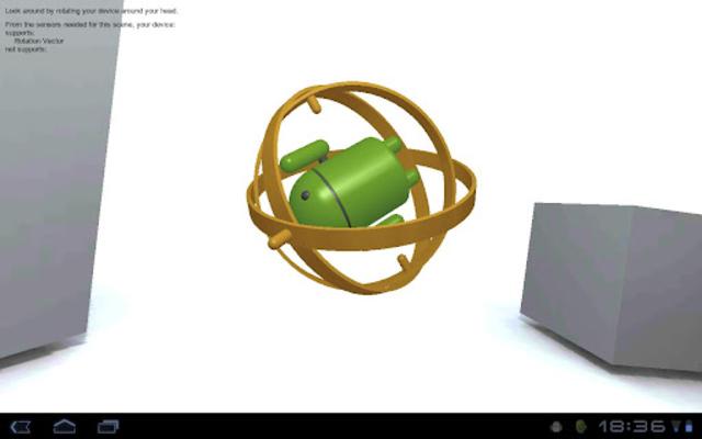 GyroDroid screenshot 1