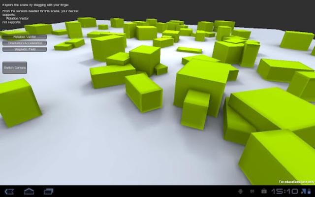 GyroDroid screenshot 2