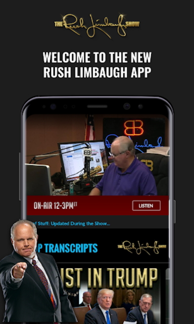 Rush Limbaugh screenshot 1