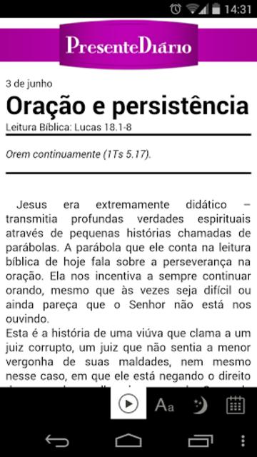Presente Diário 17 screenshot 2