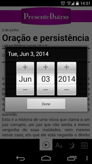 Presente Diário 17 screenshot 3