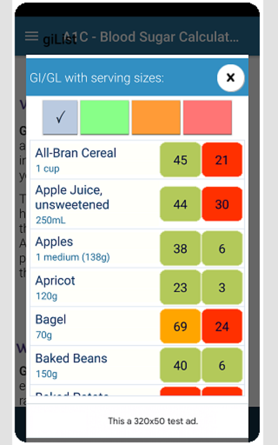 A1C Blood Sugar Calculator Tracker Diabetes app screenshot 5