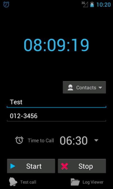 Auto Wake-up call+ screenshot 1