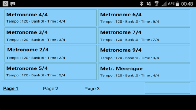 Metrodrummer metronome and drum machine screenshot 29