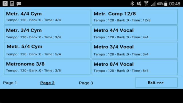 Metrodrummer metronome and drum machine screenshot 30