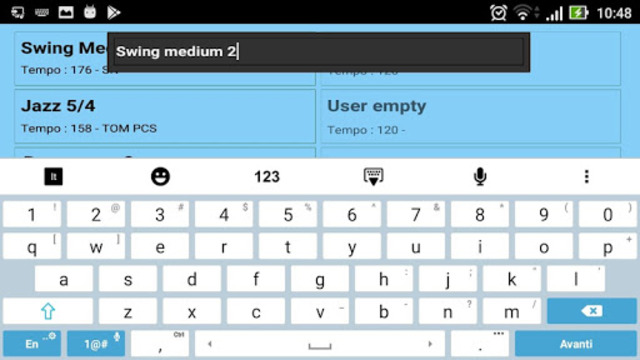 Metrodrummer metronome and drum machine screenshot 4