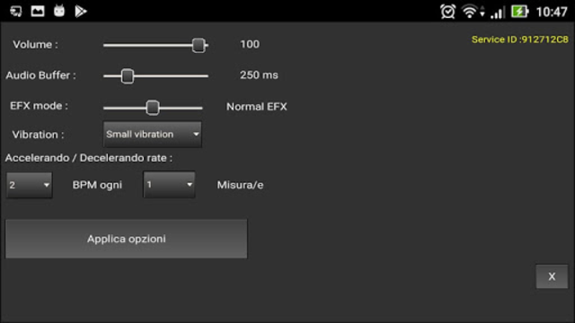 Metrodrummer metronome and drum machine screenshot 5
