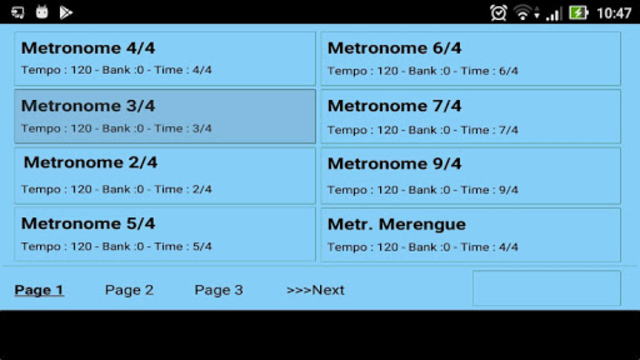 Metrodrummer metronome and drum machine screenshot 6