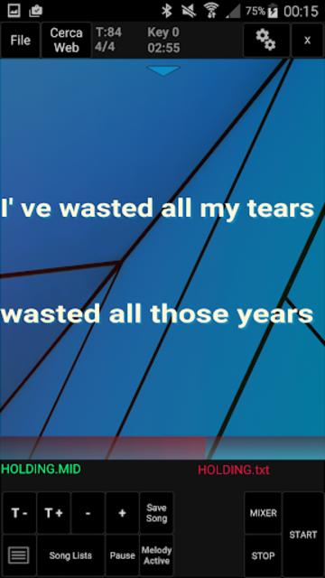 Winlive Pro Karaoke Mobile screenshot 8